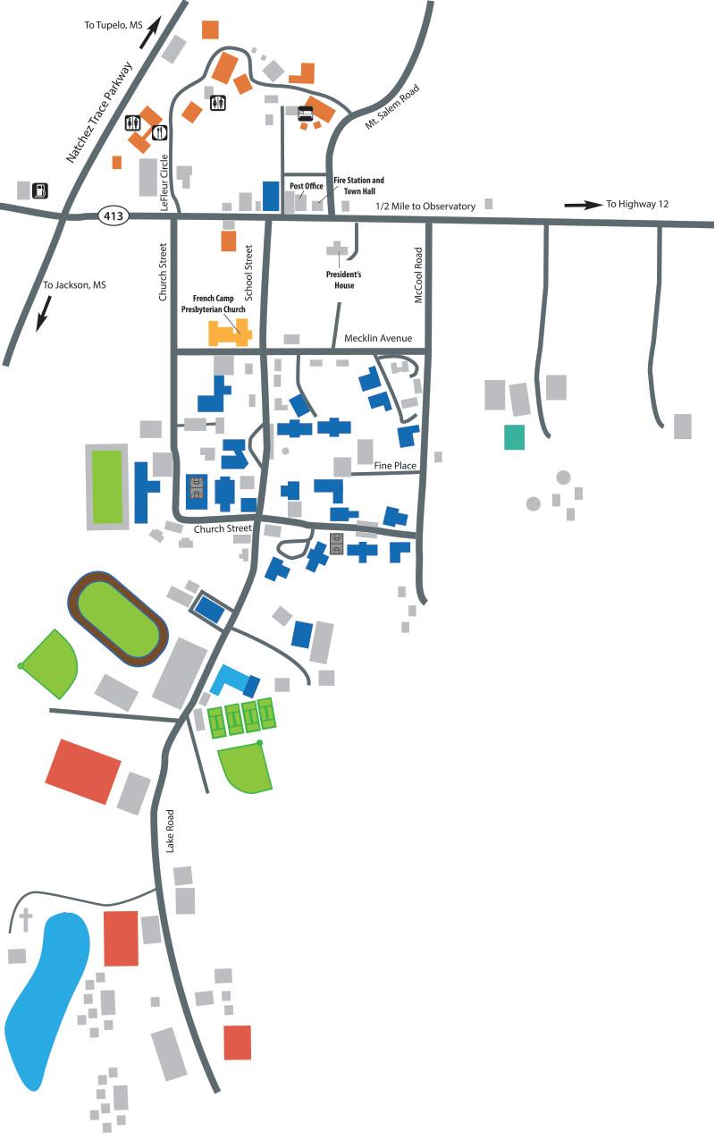academics map
